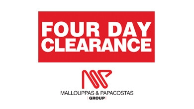 Four Day Clearance Logo