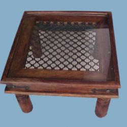 Aletraris Furniture - Sakra Rustic Side Table
